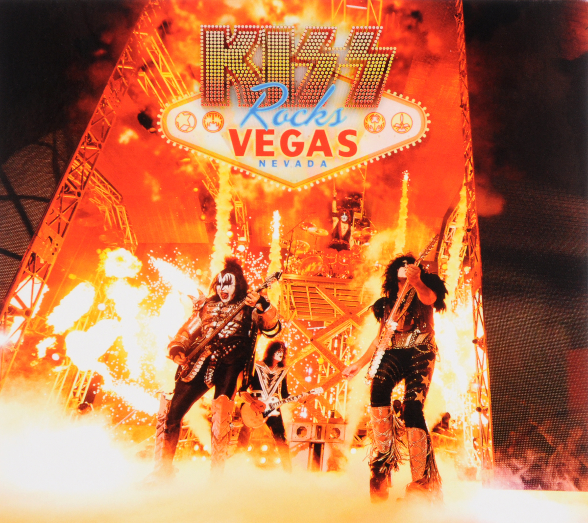 """Kiss"" Kiss. Rocks Vegas (CD + DVD)"