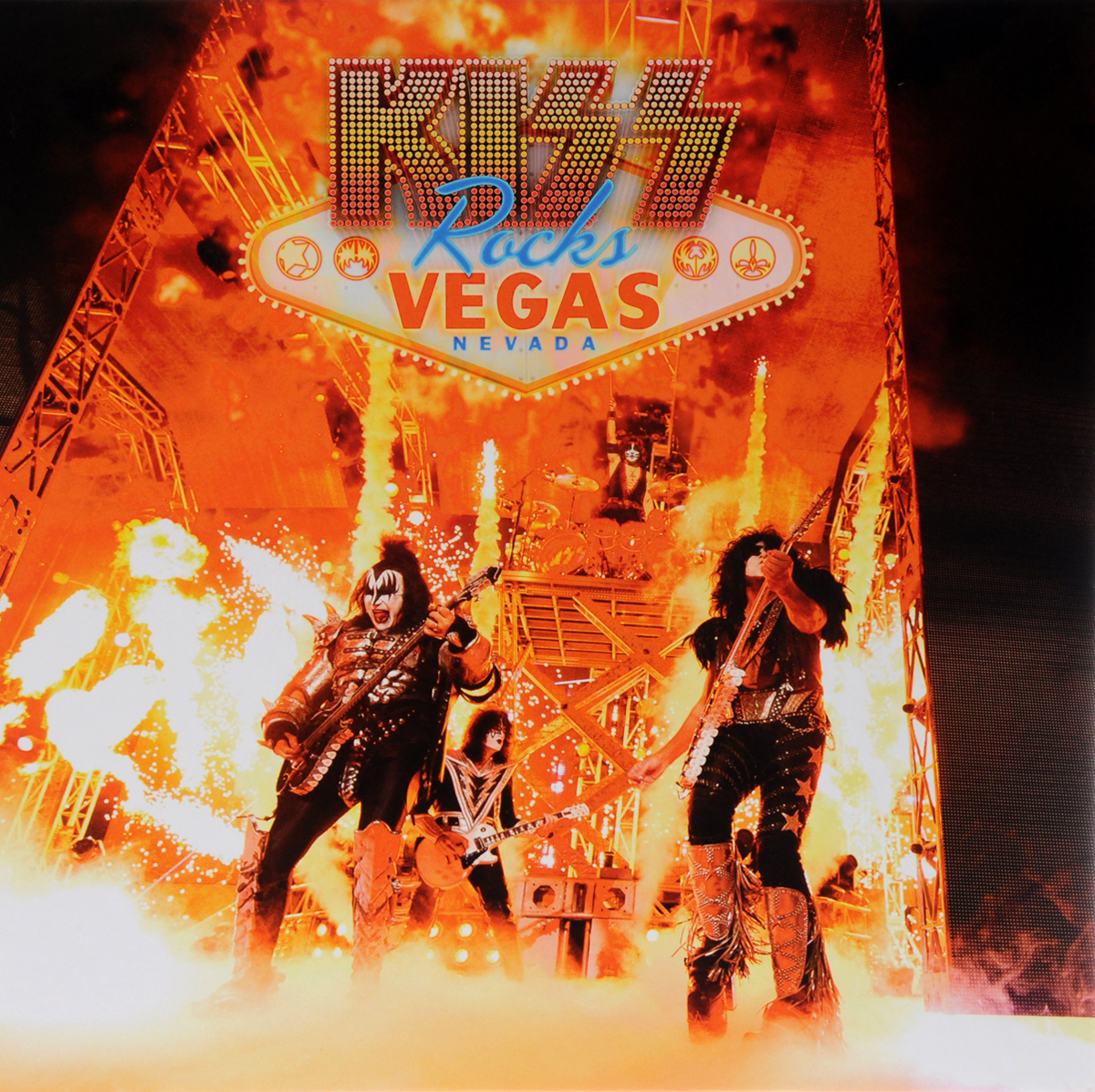 """Kiss"" Kiss. Rocks Vegas (2 CD + DVD + Blu-Ray)"