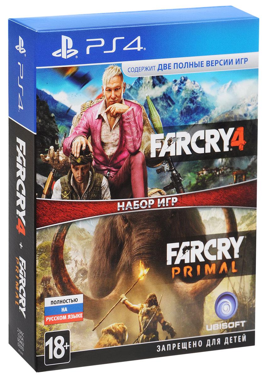 Far Cry 4 + Far Cry Primal (PS4) видеоигра для ps4 dmc devil may cry