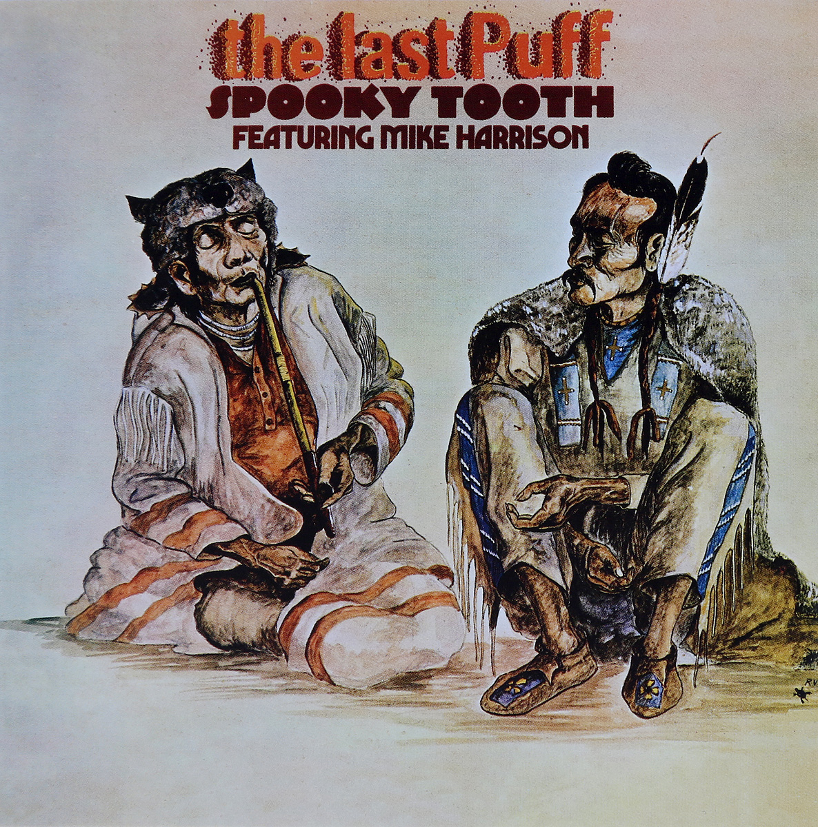 """""""Spooky Tooth"""" Spooky Tooth. The Last Puff"""