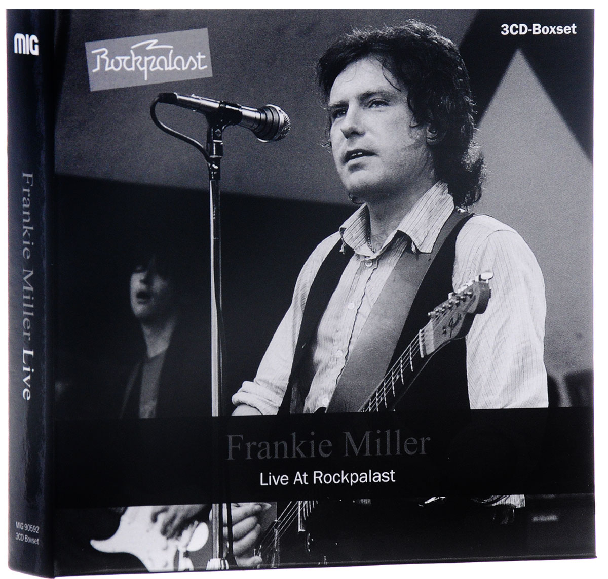 Фрэнки Миллер,Ed Deane,Mick Weaver,Chrissie Stewart,Malcom Mortimore,Ray Minhinnit,James Hall,Graham Deacon,Steve Simpson,Nick Judd,Tex Commer,Fran Bryne Frankie Miller. Live At Rockpalast (3 CD)