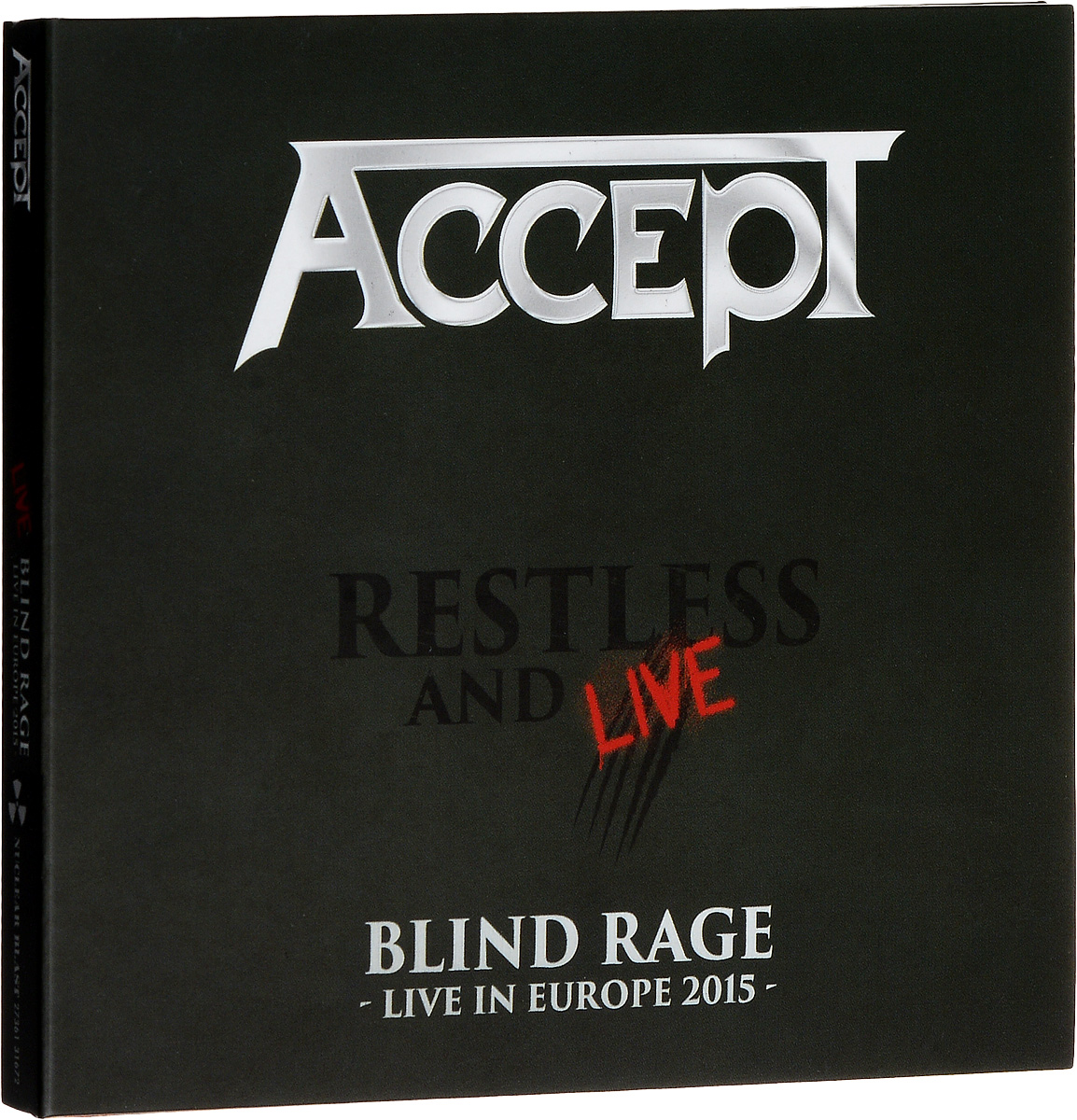 """""""Accept"""" Accept. Restless And Live (2 CD)"""