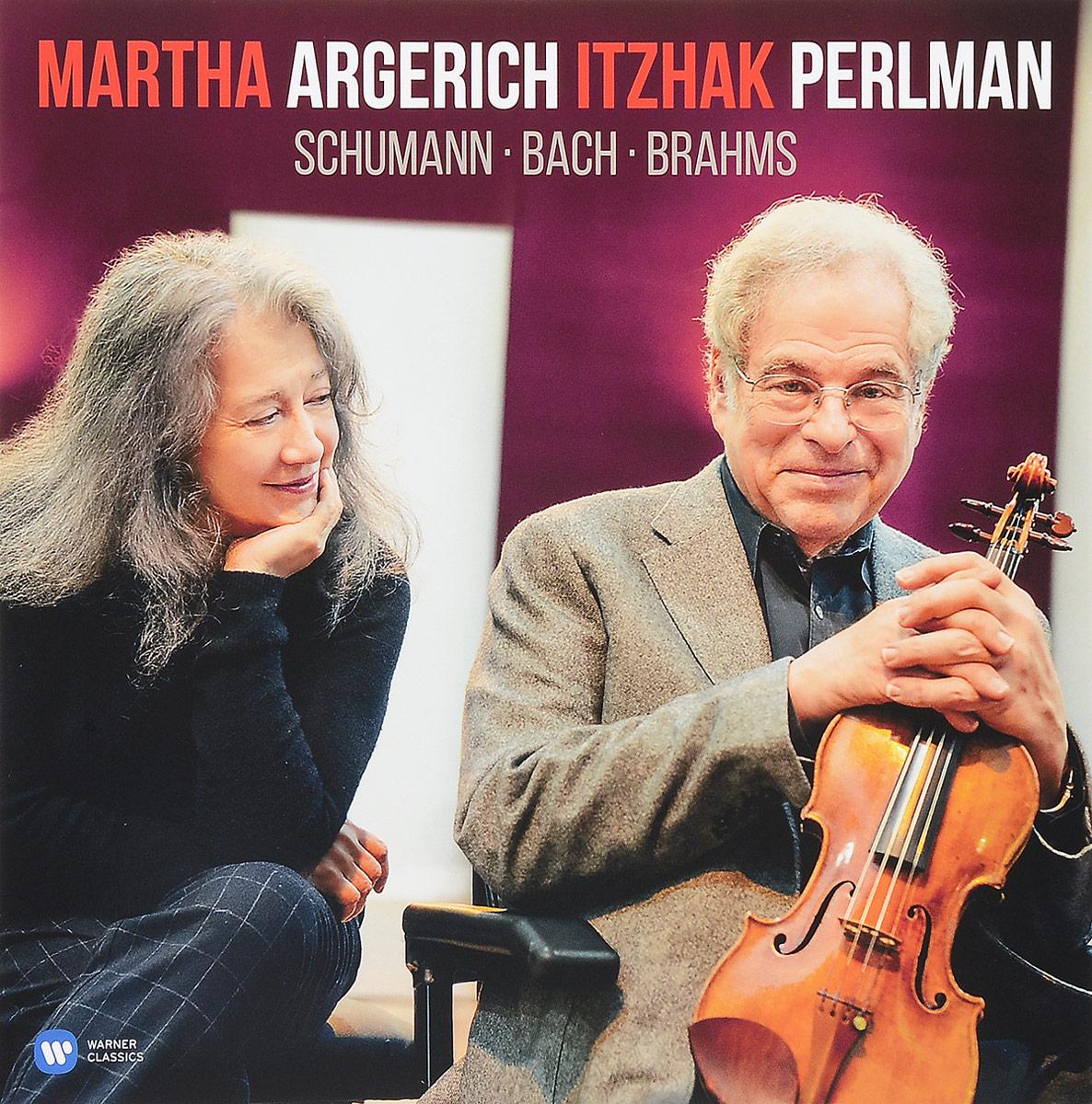 лучшая цена Марта Аргерих,Ицхак Перлман Martha Argerich & Itzhak Perlman. Schumann / Bach / Brahms (LP)
