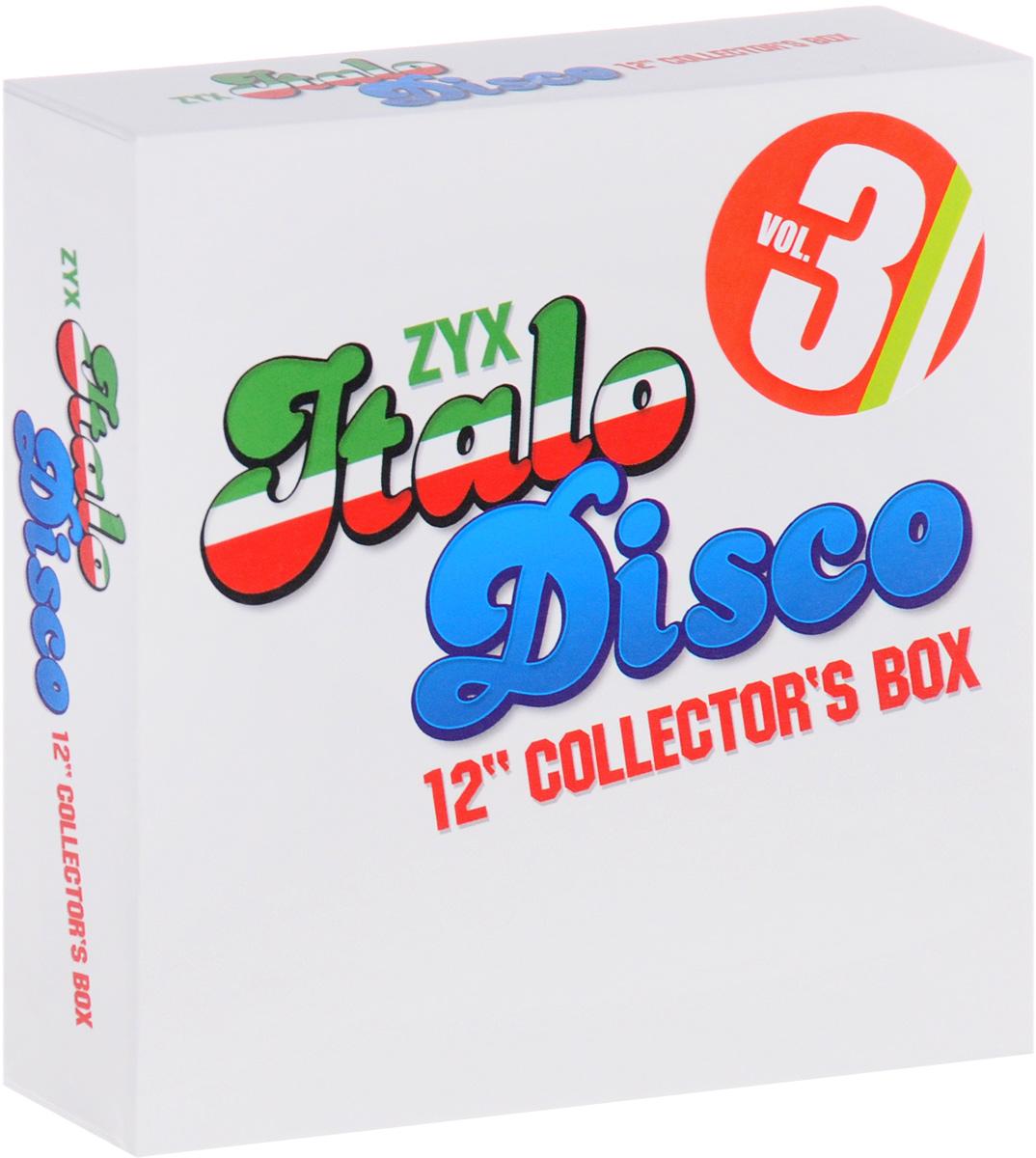 "Грант Миллер,Валери Доре,""Savage"",Tango,Алан Росс,Koto,""50 & 50 Brothers"",Brando,Сильвер Поццоли,Майк Мэрин ZYX Italo Disco. 12"" Collector's Box. Vol. 3 (10 CD)"