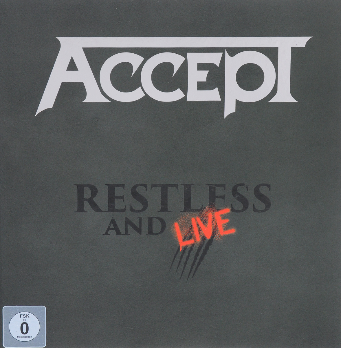 """Accept"" Accept. Restless And Live (2 CD + DVD + Blu-ray)"
