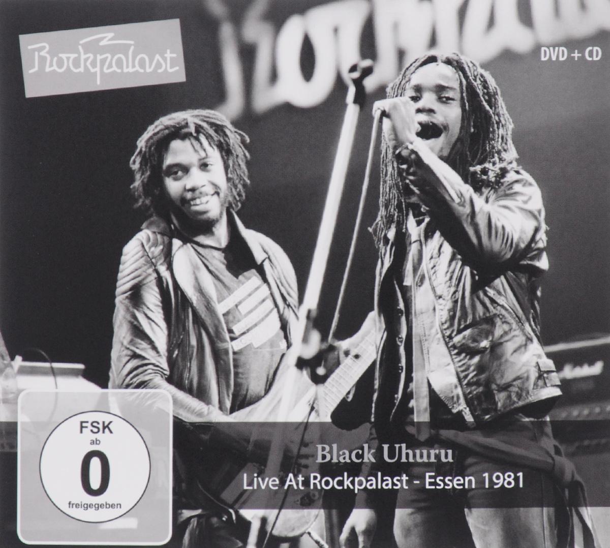 """""""Black Uhuru"""" Black Uhuru. Live At Rockpalast. Essen 1981 (CD + DVD)"""