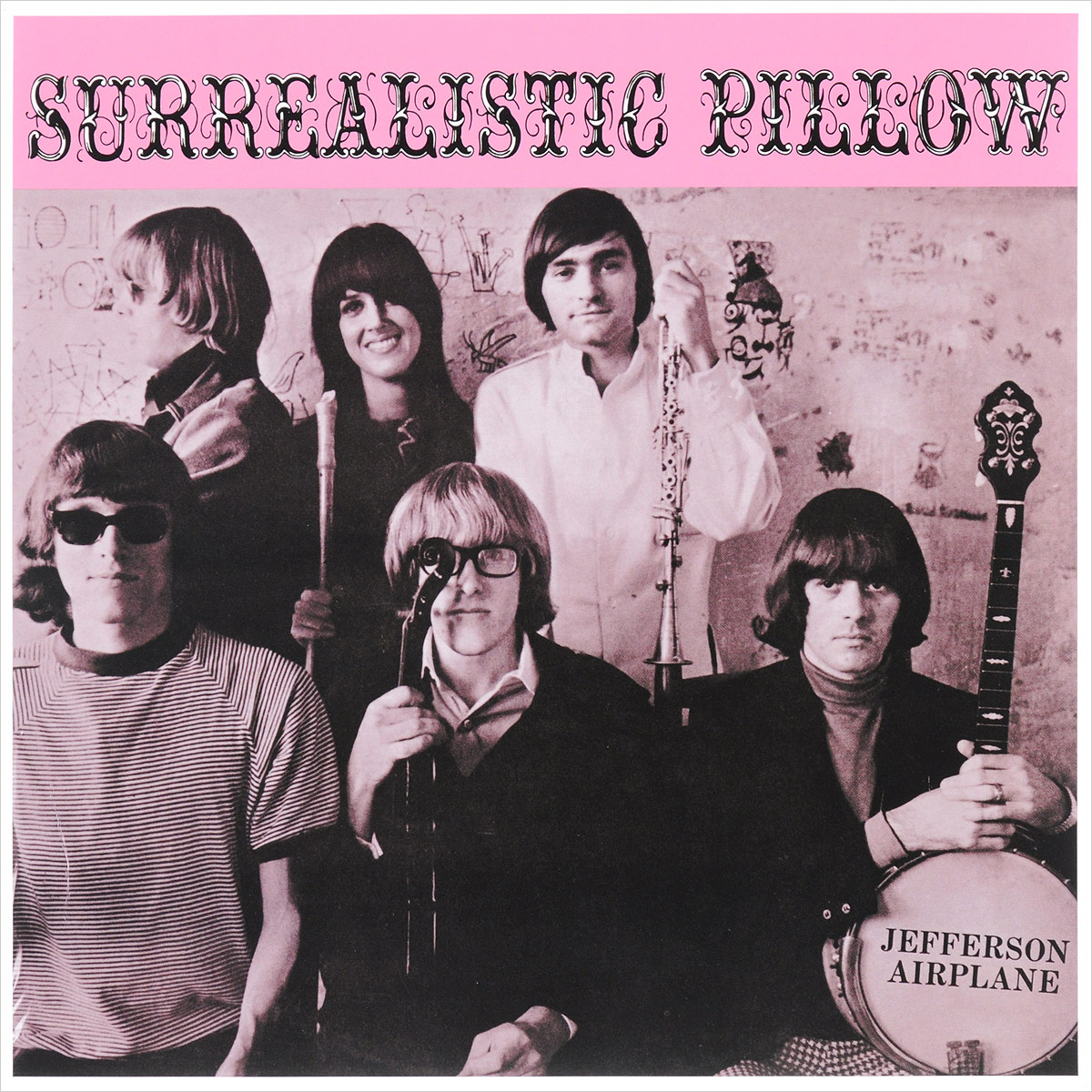 Jefferson Airplane Jefferson Airplane. Surrealistic Pillow (LP) jefferson airplane jefferson airplane the woodstock experience 2 cd