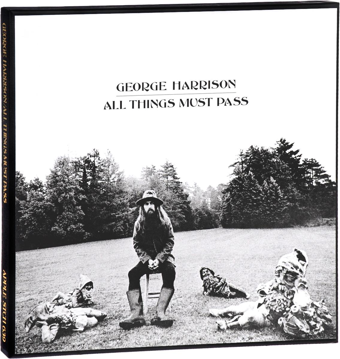 Джордж Харрисон George Harrison. All Things Must Pass (3 LP) santana 3 2 lp