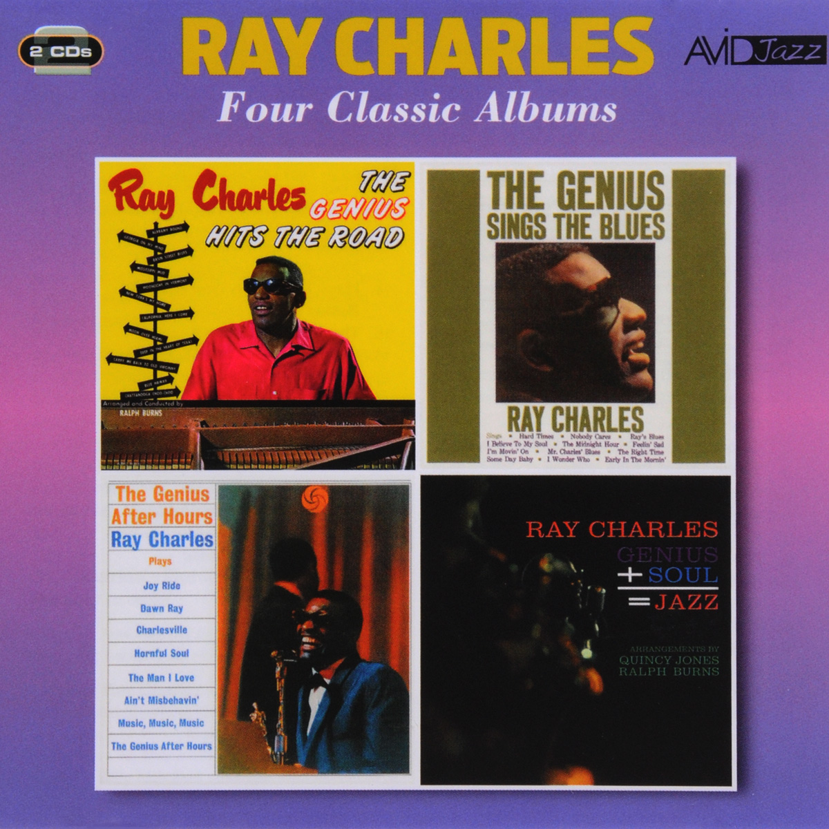 Рэй Чарльз Ray Charles. Four Classic Albums (2 CD)