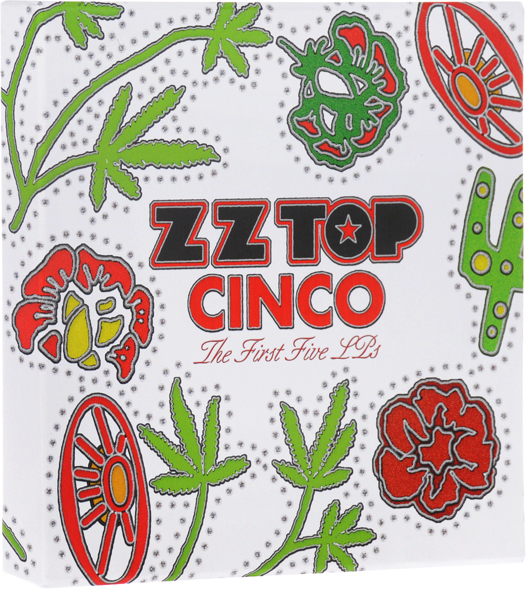 ZZ Top ZZ Top. Cinco. The First Five LPs (5 LP) striped tape side crop top