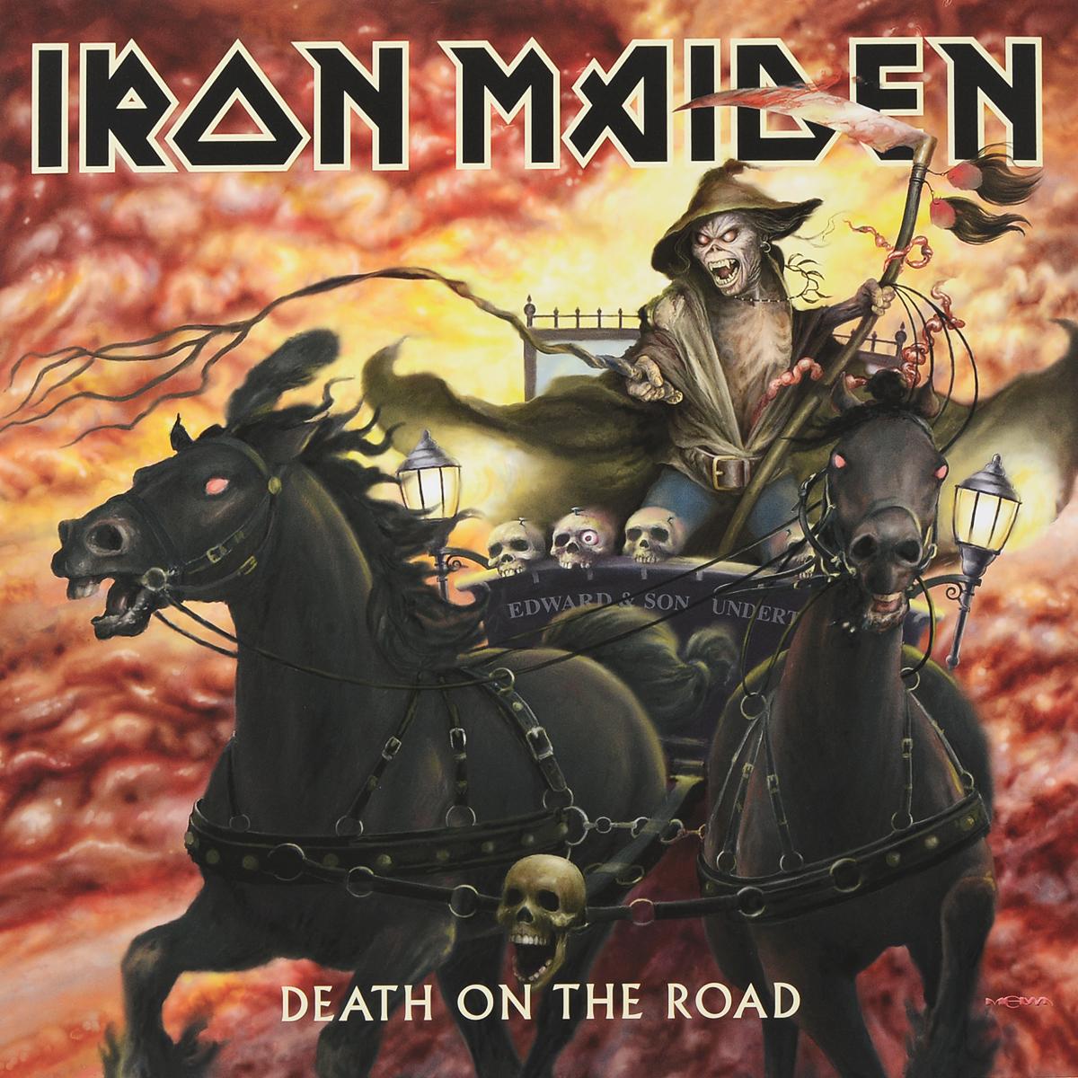 """""""Iron Maiden"""" Iron Maiden. Death On The Road (2 LP)"""