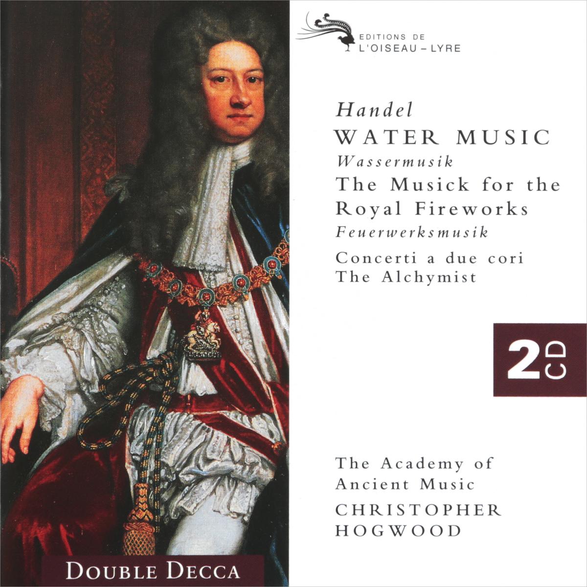 Кристофер Хогвуд,Verdez Handel. Water Music. Fireworks. Hogwood (2 CD)