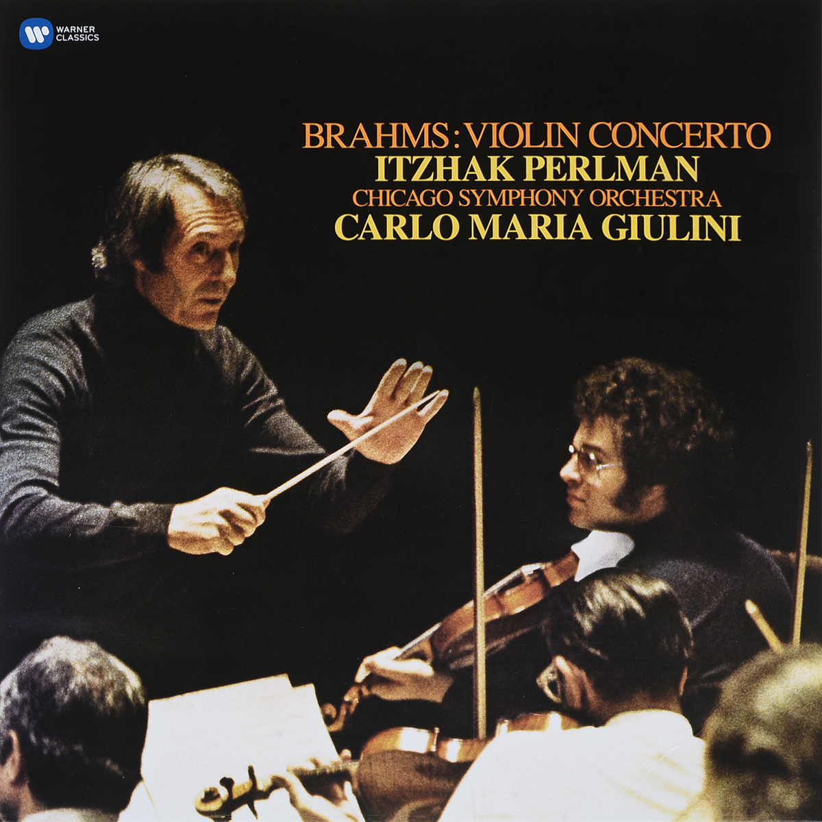 лучшая цена Ицхак Перлман,Карло Джулини,Chicago Symphony Orchestra Itzhak Perlman, Carlo Maria Giulini. Brahms. Violin Concerto (LP)