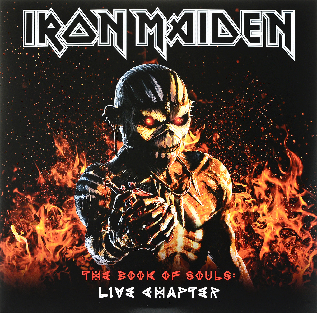цена на Iron Maiden Iron Maiden. The Book Of Souls: Live Chapter (3 LP)