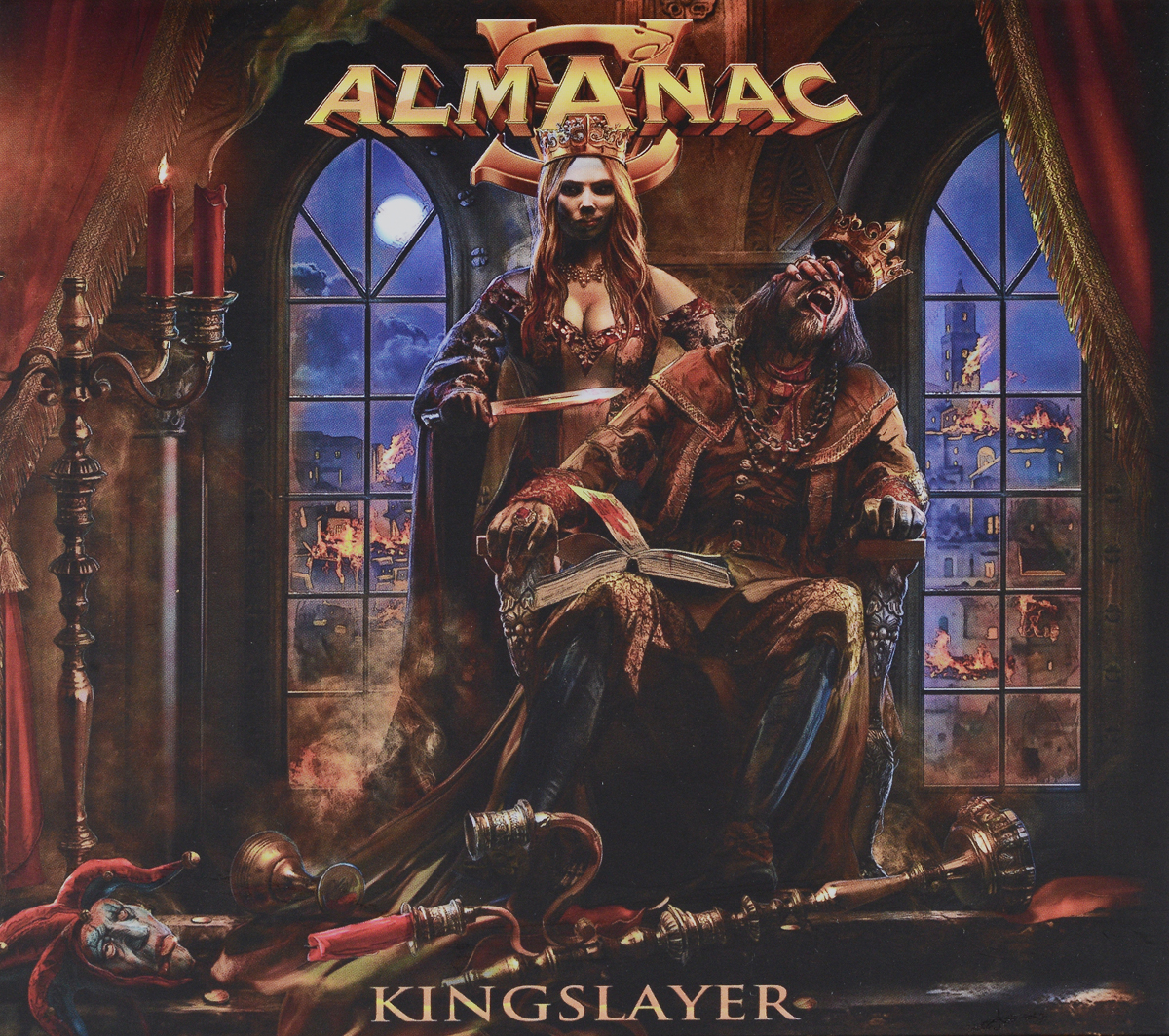 """Almanac"" Almanac. Kingslayer (CD + DVD)"