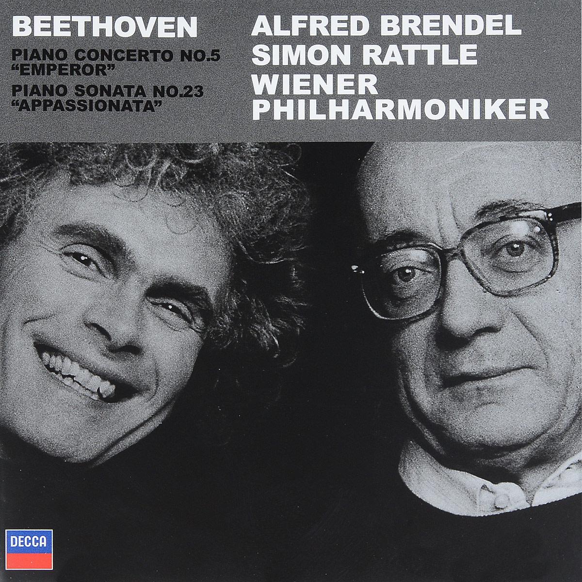 Alfred Brendel. Beethoven: Piano Concerto No.5; Piano Sonata Op.57