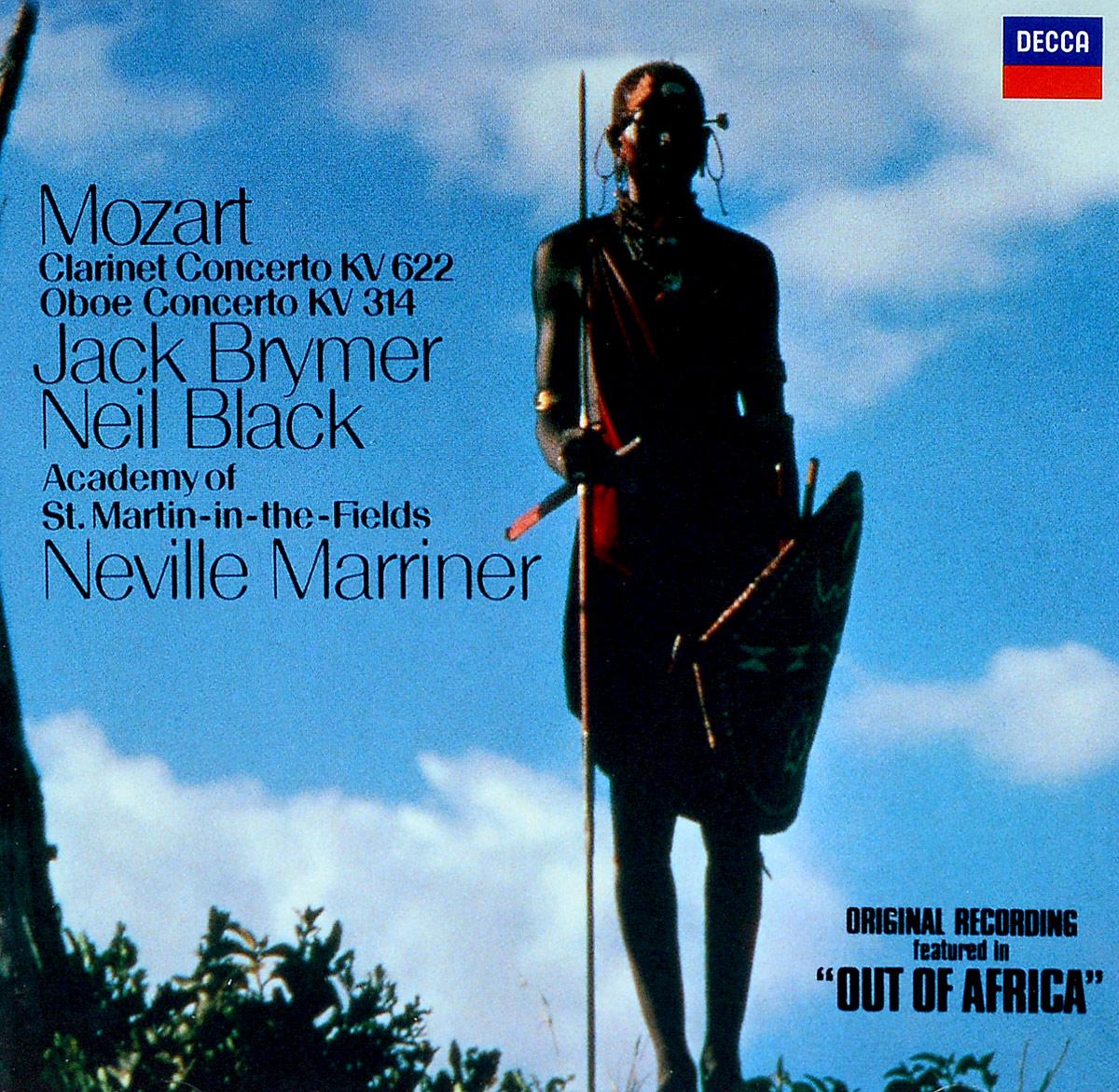 Джек Браймер,Нэвилл Мерринер Jack Brymer, Sir Neville Marriner. Mozart: Clarinet Concerto / Oboe Concerto