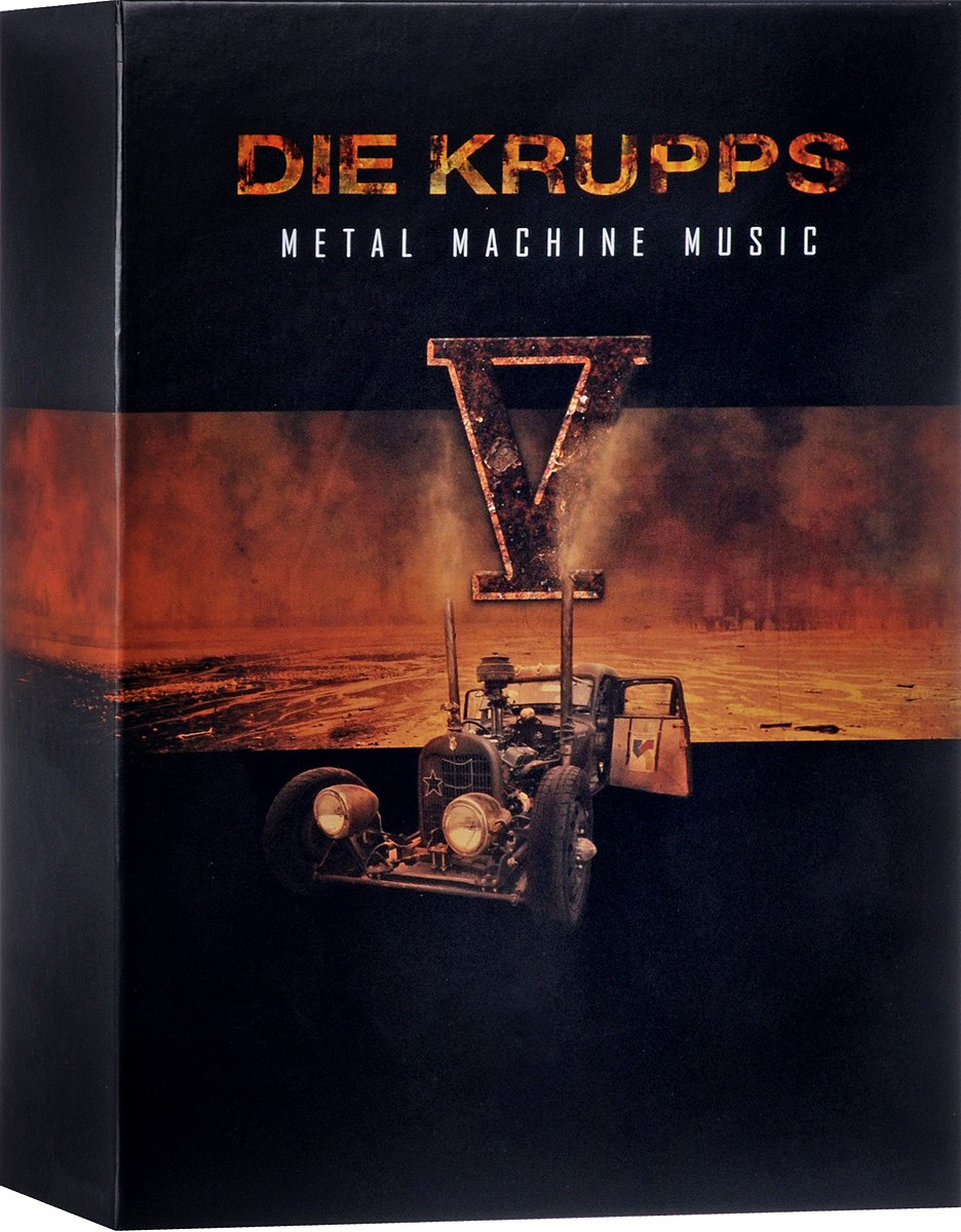 """""""Die Krupps"""" Die Krupps. V - Metal Machine Music (Deluxe) (2 CD)"""