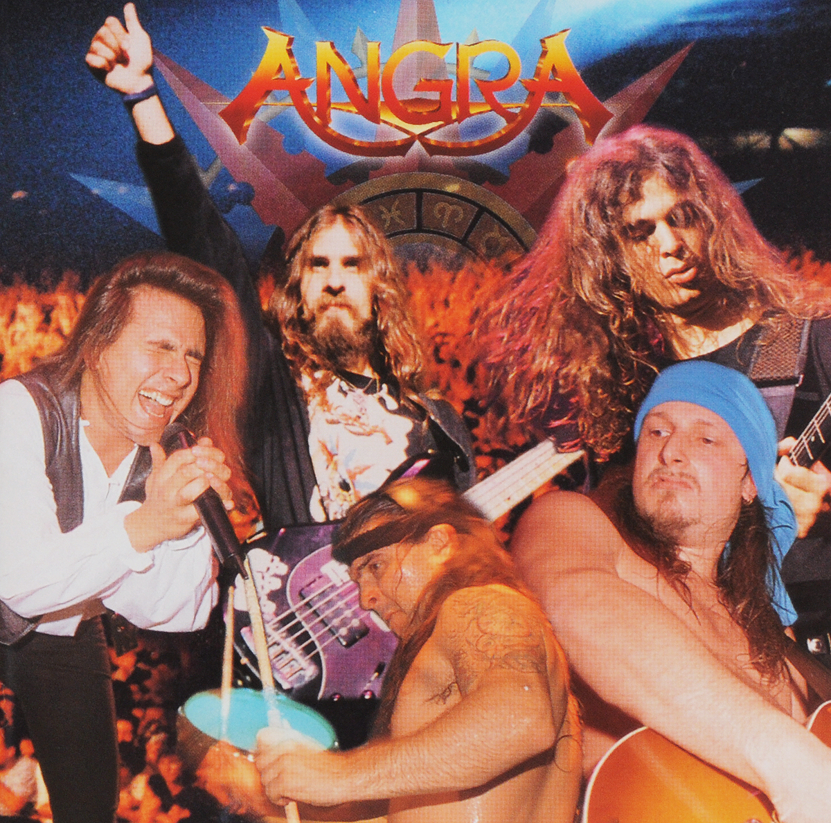 """""""Angra"""" Angra. Freedom Call / Holy Live (2 CD)"""