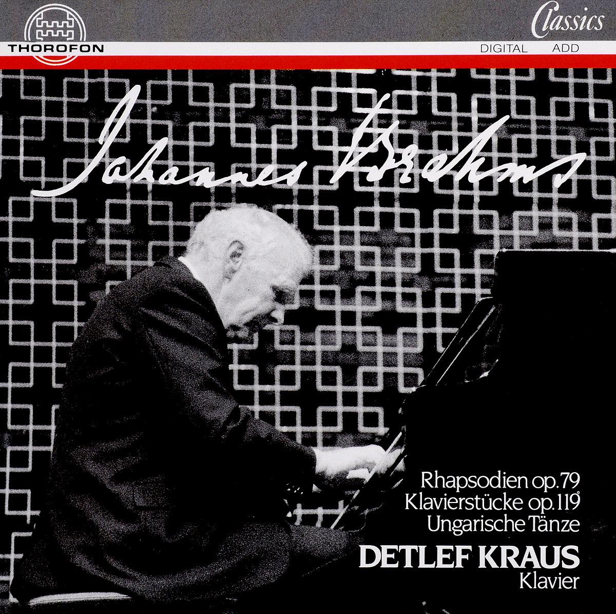 J. Brahms. Piano Piece op.119 - Hungarian Dances - Rhapsodien op.79