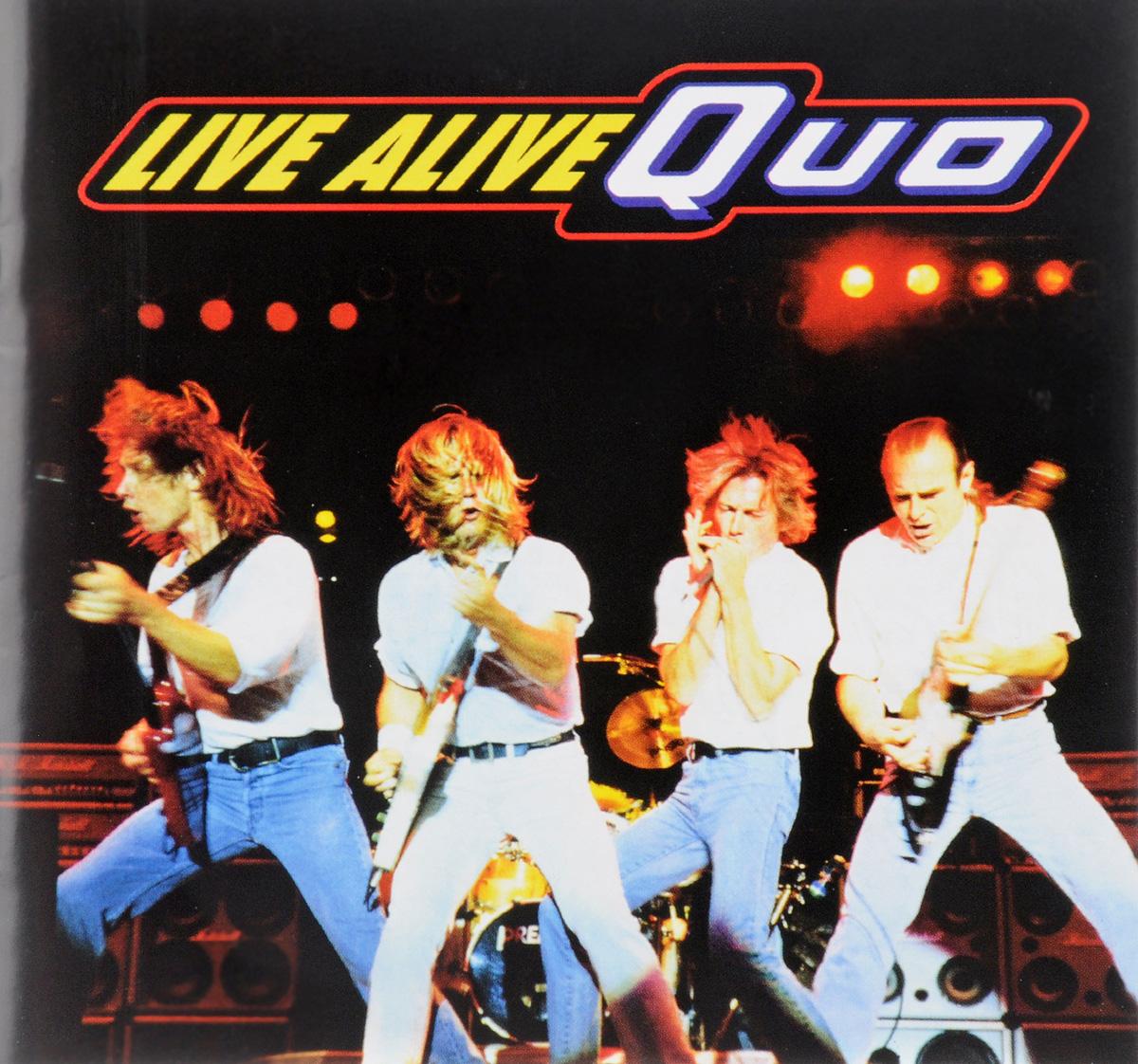 """""""Status Quo"""" Status Quo. Live Alive Quo"""