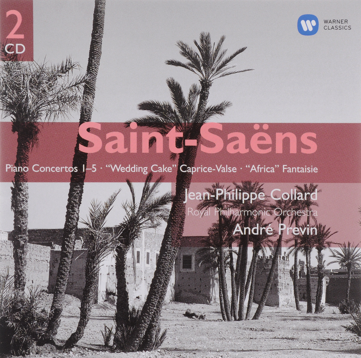 Jean-Phillipe Collard, Camille Saint-Saens. Saint-Saens: Piano Concertos 1-5 etc