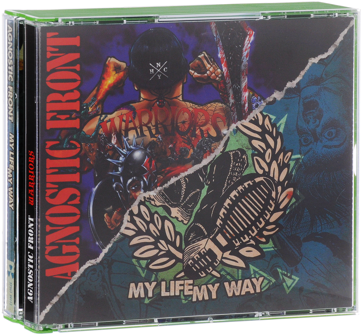 Agnostic Front. Warriors / My Life My Way (2 CD)