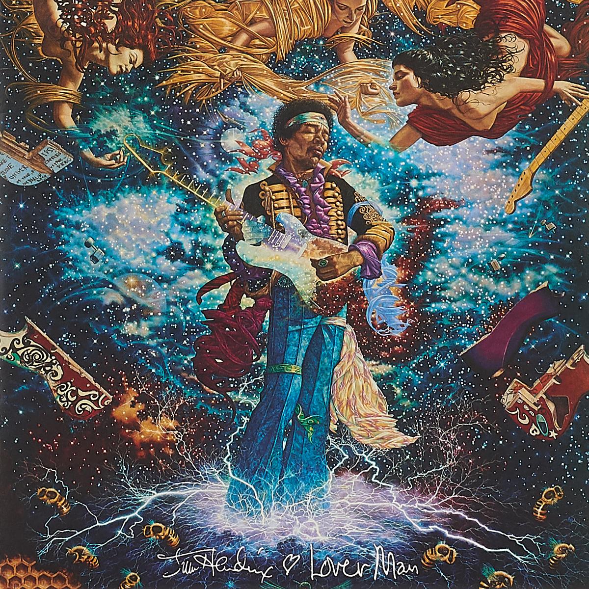 Джими Хендрикс Jimi Hendrix. Lover Man, Foxy Lady (LP) d h lawrence lady chatterleys lover