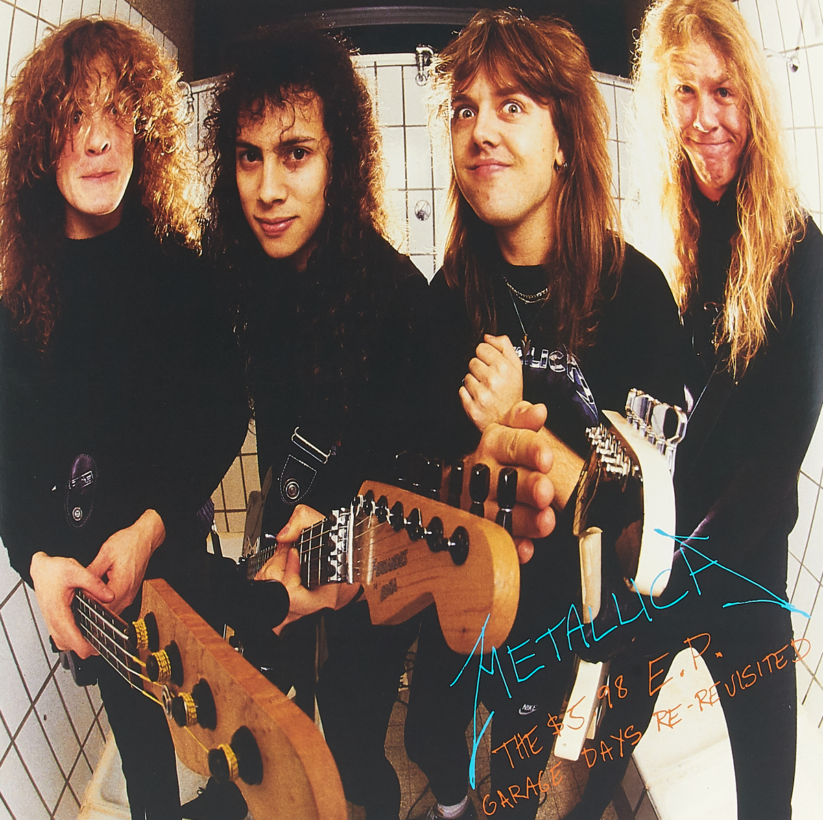Metallica Metallica. The $5.98 E.P Garage Days Re-Revisited (LP) metallica garage inc