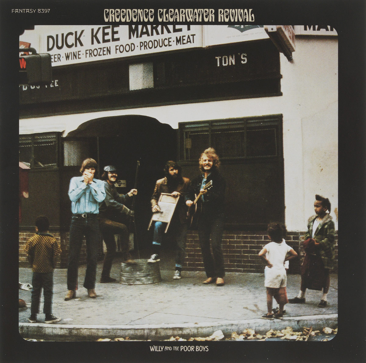 Creedence Clearwater Revival Creedence Clearwater Revival. Willy And The Poor Boys. 40th Anniversary Edition revival