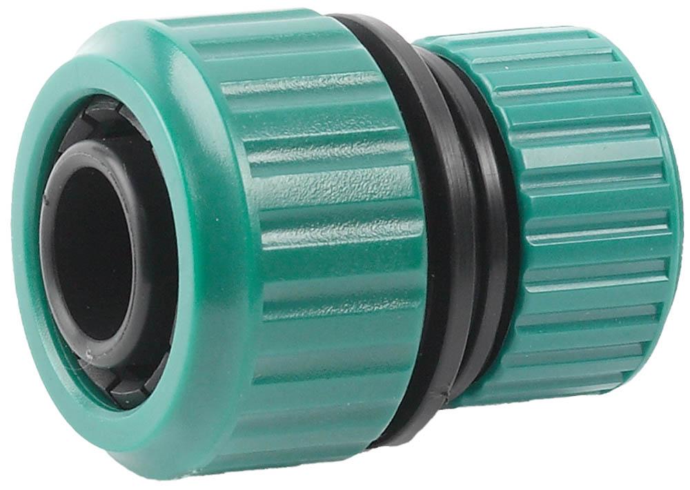 Муфта для поливного шланга Raco, Original, универсальная. 4250-55174C4250-55174CМуфта RACO (шланг 3/4- шланг 1) обеспечивает надежное соединение и продолжительный срок службы. Применяется для быстрого и надежного соединения (удлинения) двух шлангов диаметром 3/4 и 1. Высококачественный ударопрочный пластик надежно защищает от протечек. Изделие совместимо с другими поливочными системами RACO, а также аналогичными системами других производителей.-Диаметр: 3/4х1; -Материал изделия: ABS-пластик.