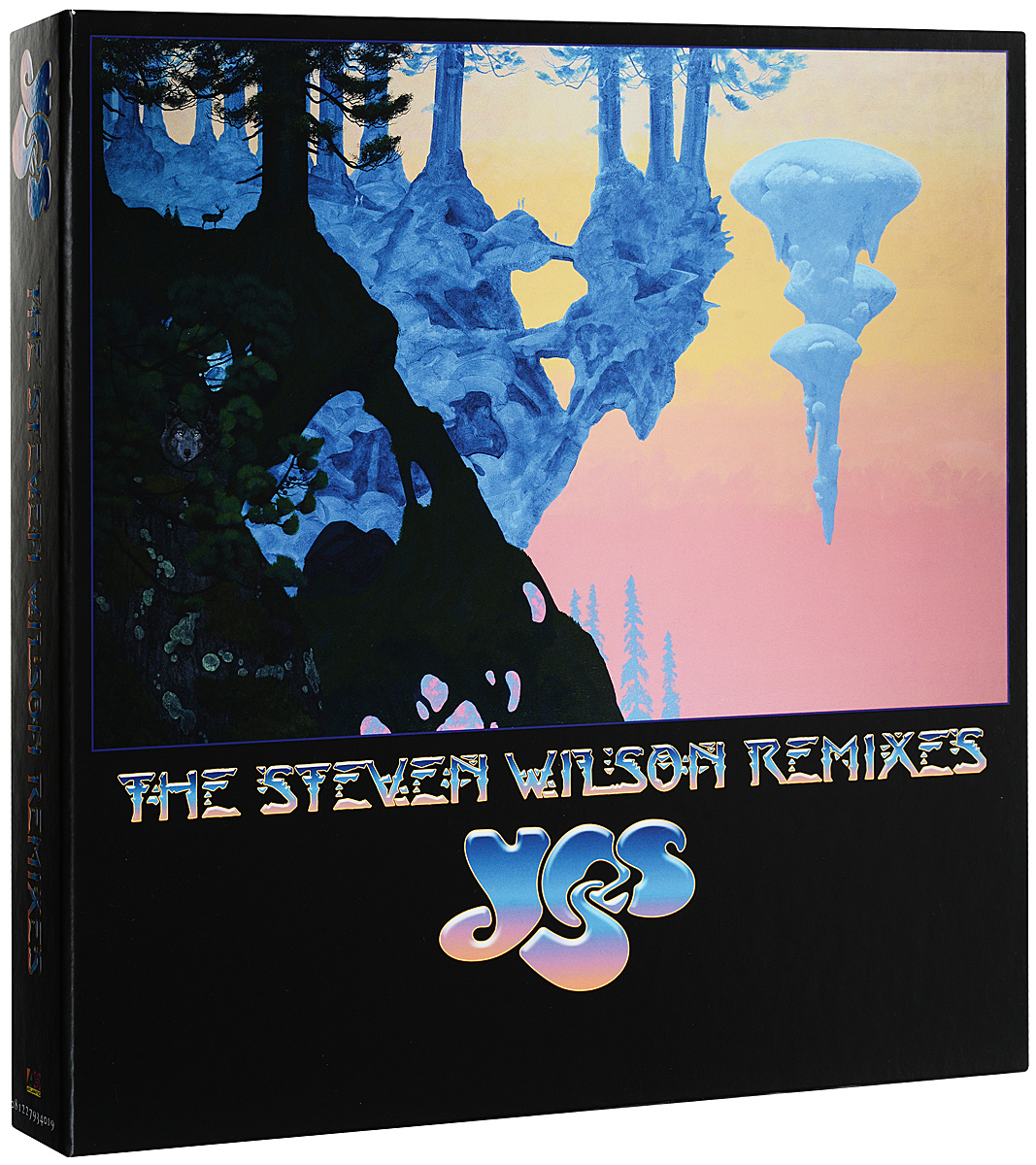 Yes,Стивен Уилсон Yes. The Steven Wilson Remixes (50th Anniversary Edition) (6 LP) blackout 50th anniversary deluxe edition lp cd