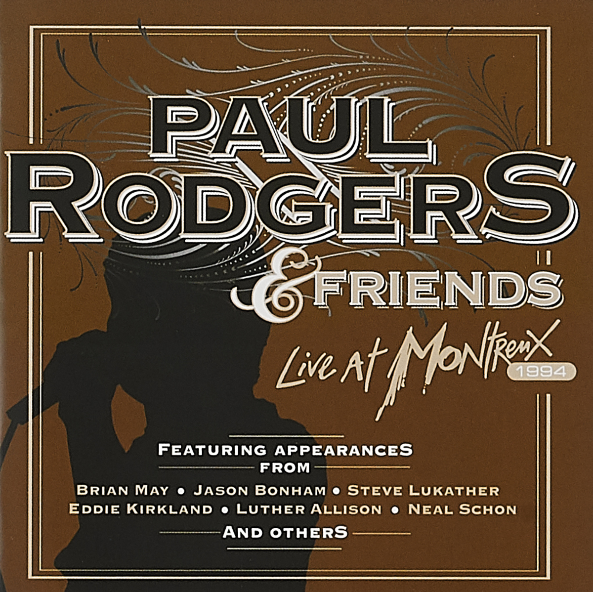 Пол Роджерс Paul Rodgers. Live At Montreux (CD + DVD)