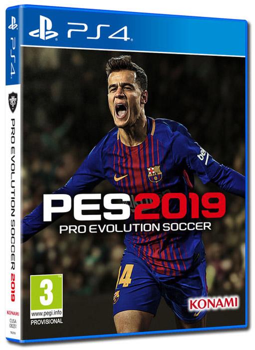 Pro Evolution Soccer 2019 (PS4) цена 2017
