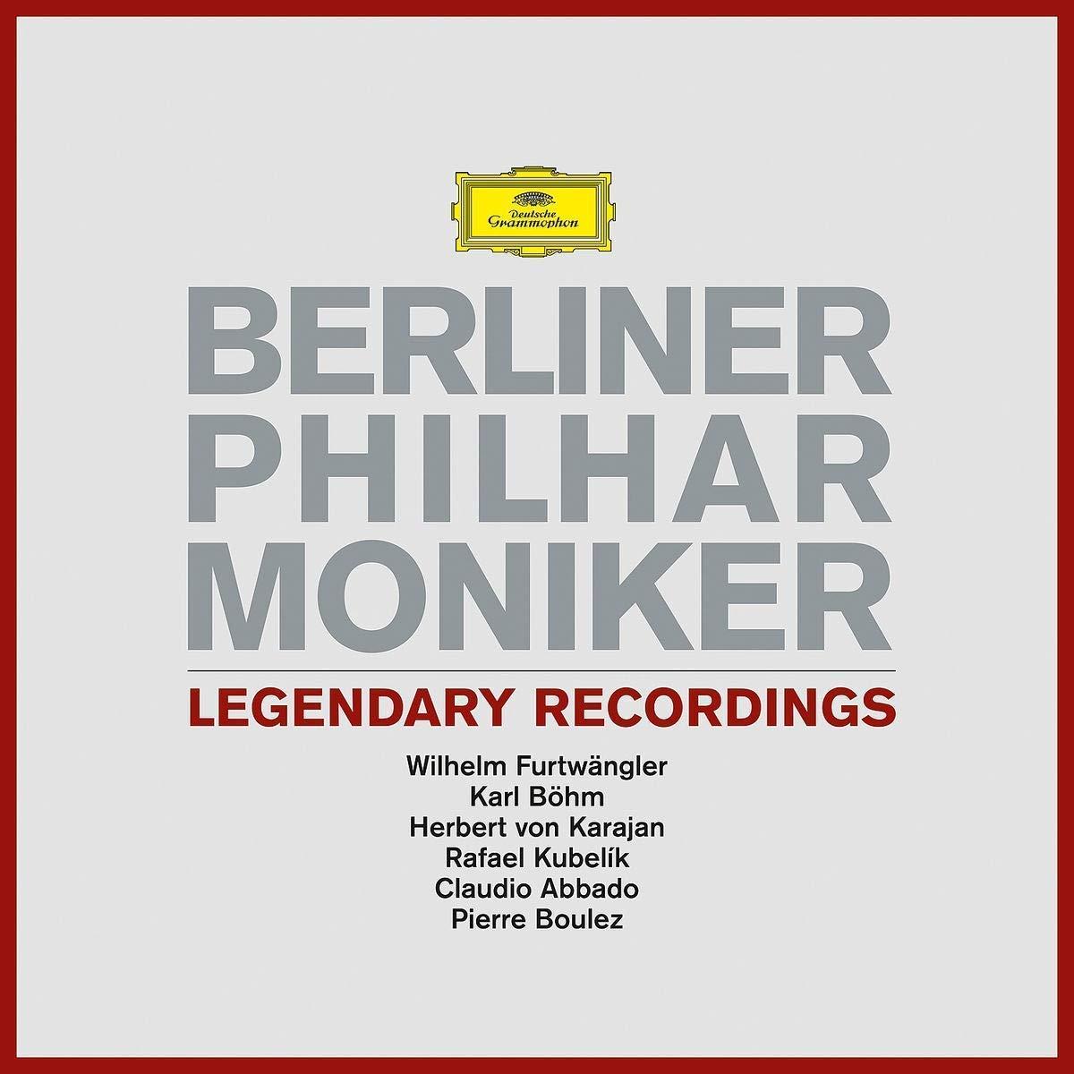 Berliner Philharmoniker Berliner Philharmoniker. Legendary Recordings (3 LP) recordings