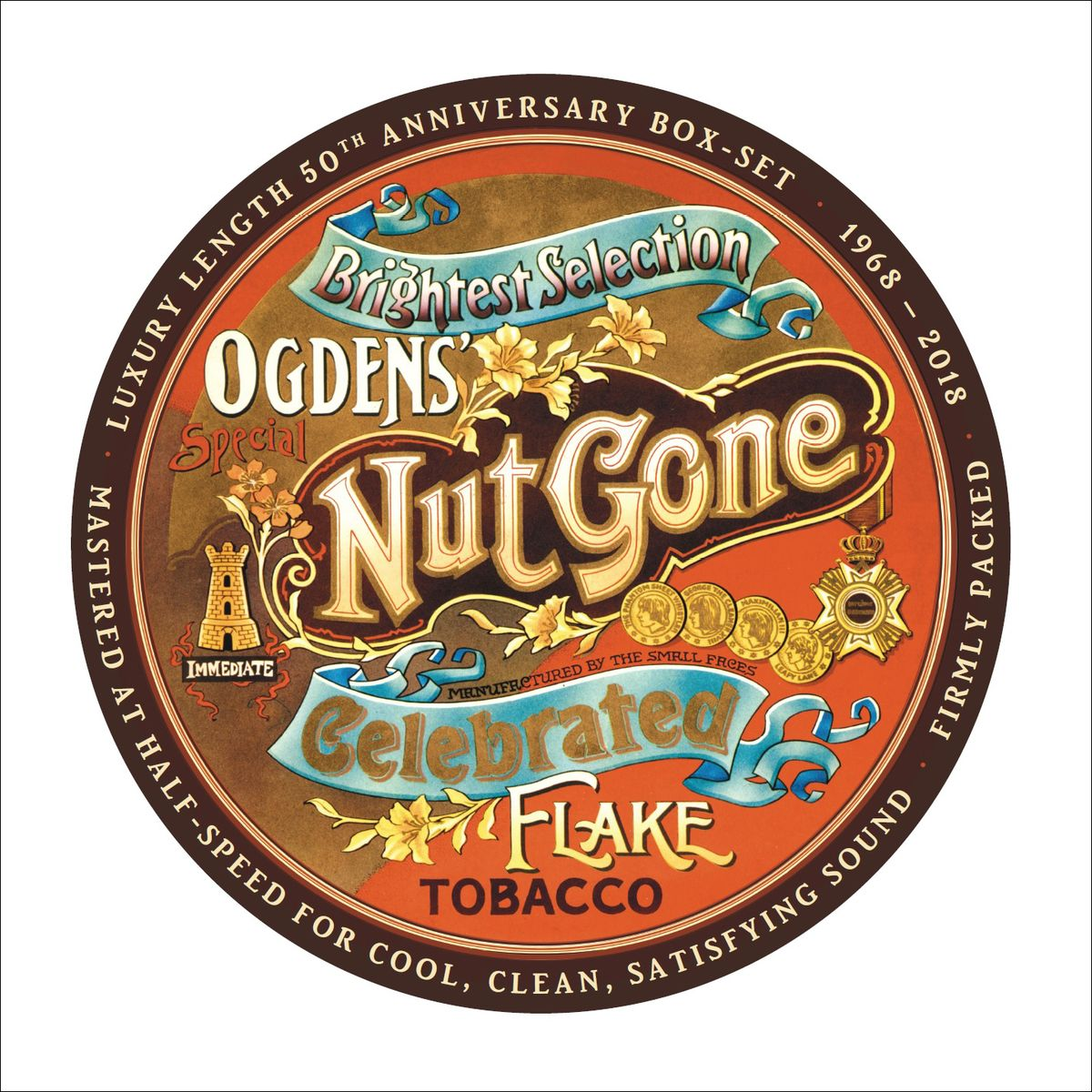 The Small Faces Small Faces. Ogdens Nut Gone Flake. 50th Anniversary Deluxe Edition (3 LP) blackout 50th anniversary deluxe edition lp cd
