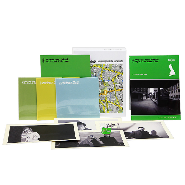 Saint Etienne. Words And Music By Saint Etienne (3 CD)