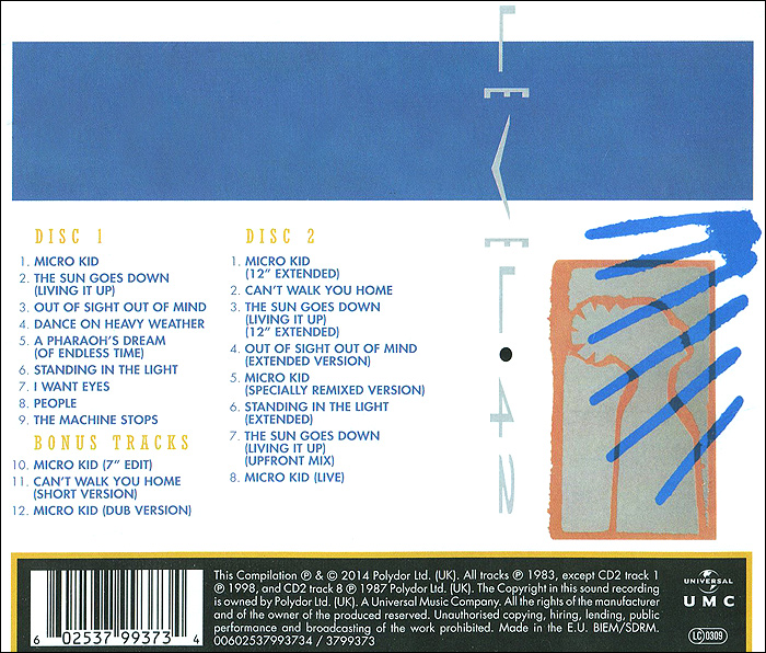 Level 42. Standing In The Light (2 CD)