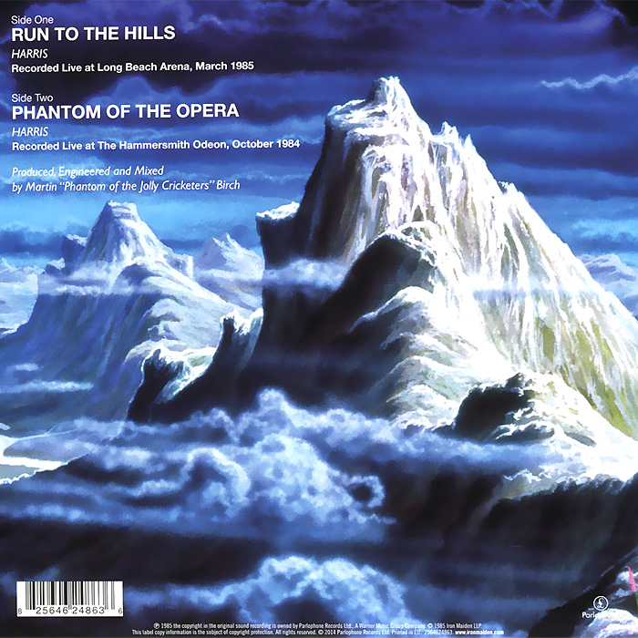 Iron Maiden. Run to the Hills (live) (LP) LP Tracks LP Tracks...