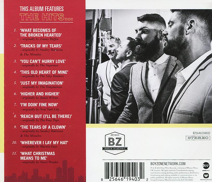Boyzone. From Dublin to Detroit