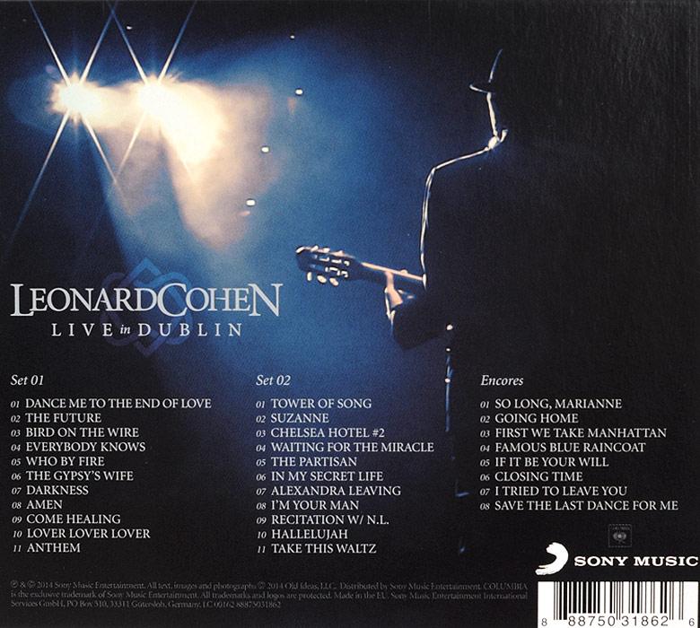 Leonard Cohen  Live In Dublin (3 CD)