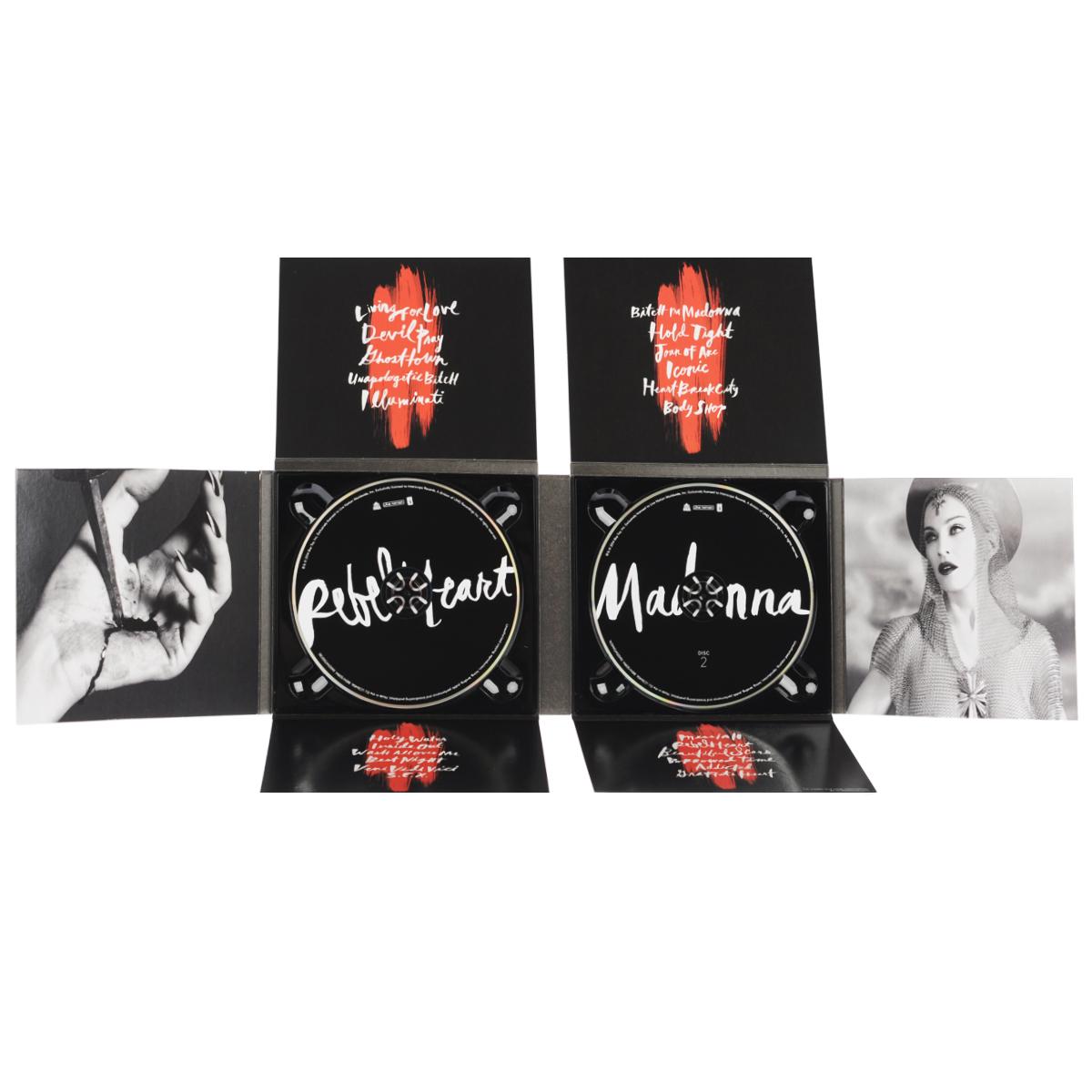 Madonna. Rebel Heart. Deluxe Version (2 CD)