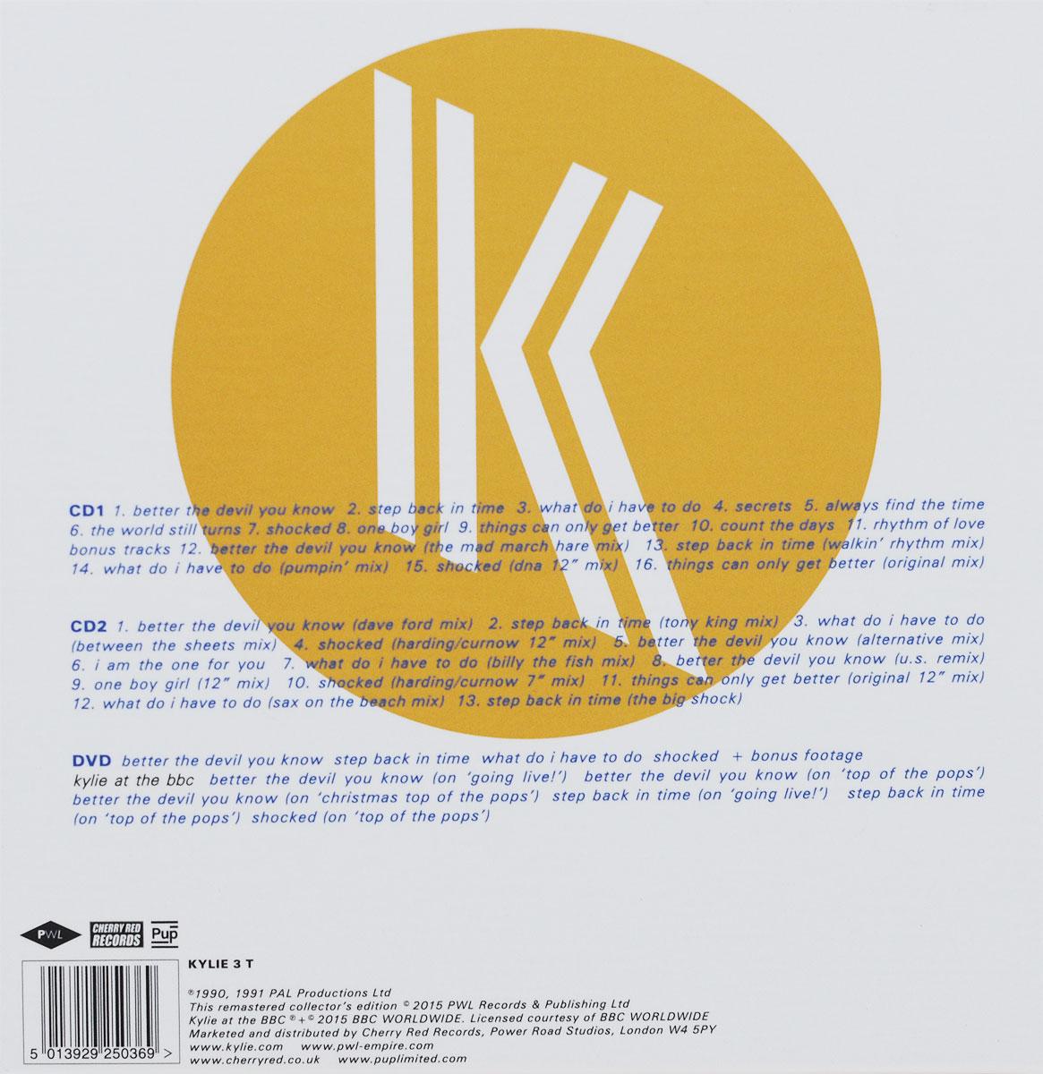 Kylie Minogue. Rhythm Of Love (2 CD + DVD)