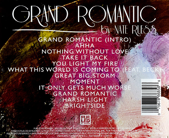 Nate Ruess. Grand Romantic