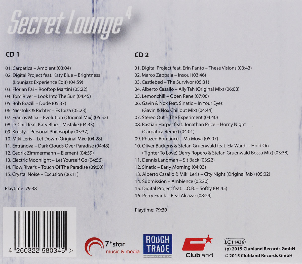 Secret Lounge 4 (2 CD) . ...