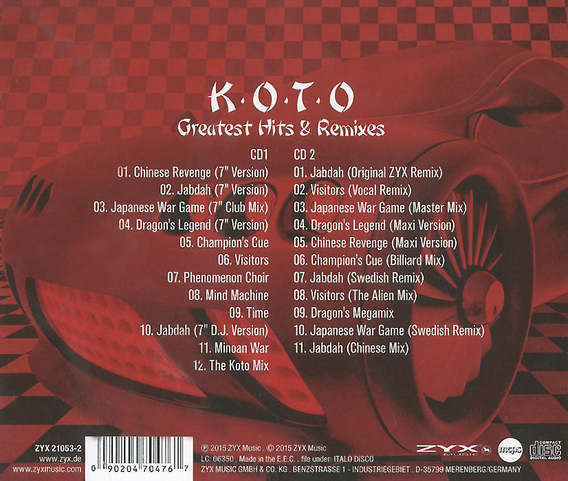Koto. Greatest Hits & Remixes (2 CD)