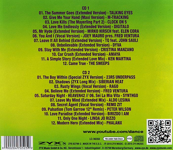 ZYX Italo Disco. New Generation Vol. 6 (2 CD)