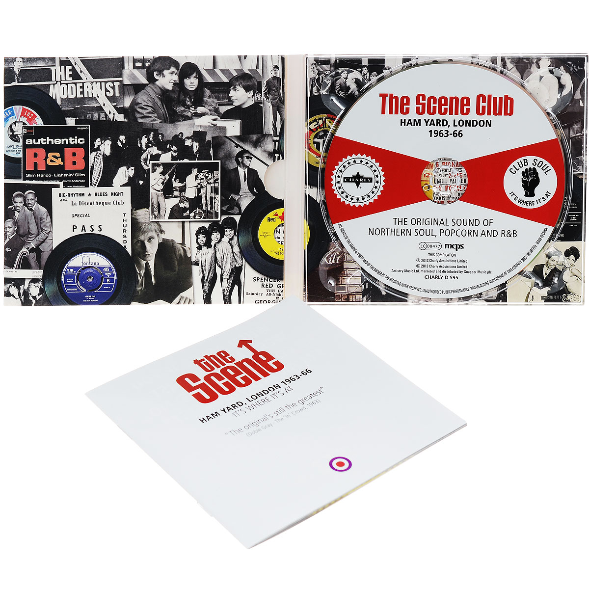 The Scene Club. Ham Yard 1963-66. The Original Sound Of Northern Soul, Popcorn And R&B