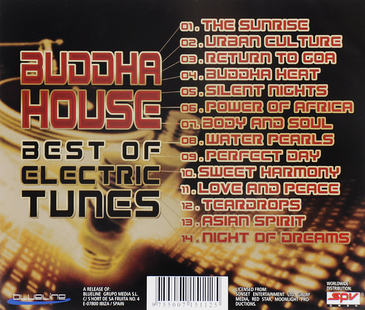 Buddha House. Best Of Electric Tunes