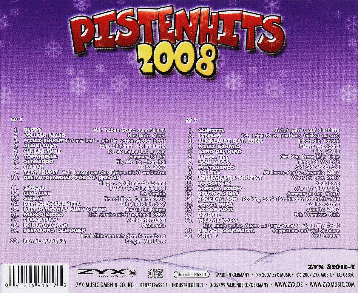 Pistenhits 2008 (2 CD)